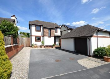Thumbnail 4 bed detached house for sale in Benedicts Road, Liverton, Newton Abbot, Devon