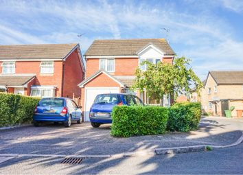 Thumbnail 3 bed detached house for sale in Godwit Close, Peterborough
