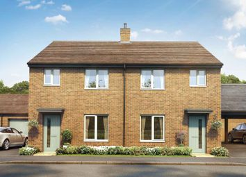 Thumbnail 3 bed semi-detached house for sale in Aston Reach, Weston Turville, Aylesbury