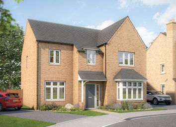 "Thumbnail 5 bed detached house for sale in ""The Birch"" at Wenrisc Drive, Minster Lovell, Witney"