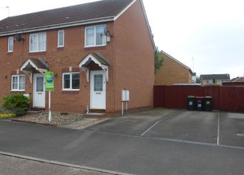 Thumbnail 2 bed end terrace house for sale in Caddaw Avenue, Hucknall, Nottingham