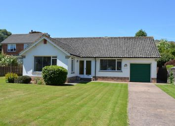 Thumbnail 2 bedroom detached bungalow for sale in Woolbrook Park, Sidmouth, Devon