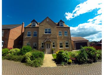 Thumbnail 5 bed detached house for sale in Saffron Way, Crowle, Scunthorpe