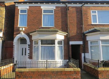 Thumbnail 3 bed terraced house to rent in De La Pole Avenue, Hull