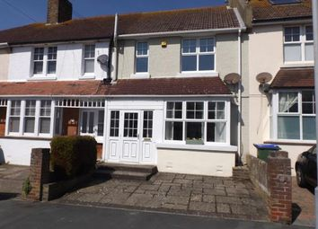 Thumbnail 3 bed terraced house for sale in Hindover Road, Seaford, East Sussex|