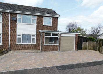 Thumbnail 3 bedroom semi-detached house to rent in Athelstan Close, Axminster