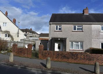 Thumbnail 3 bed semi-detached house for sale in Priors Crescent, Swansea