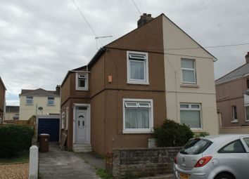 Thumbnail 2 bed semi-detached house to rent in Marina Road, Plymouth