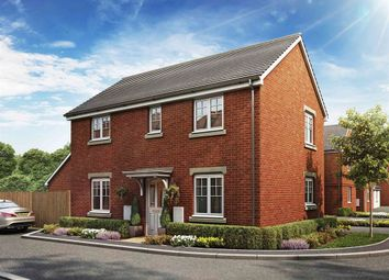 "Thumbnail 3 bed detached house for sale in ""The Clayton Corner"" at Haverhill Road, Little Wratting, Haverhill"