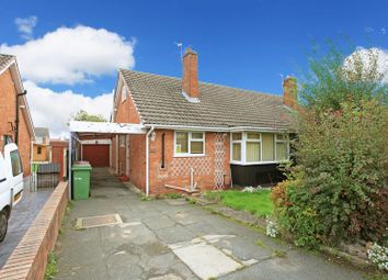 Thumbnail 2 bed semi-detached bungalow for sale in Bream Close, Trench, Telford