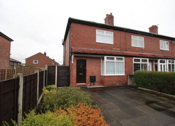 Thumbnail 3 bed semi-detached house for sale in Baslow Grove, Reddish, Stockport