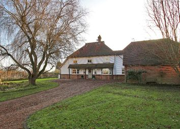 Thumbnail 4 bed detached house for sale in Mill Lane, Mill Corner, Northiam, East Sussex
