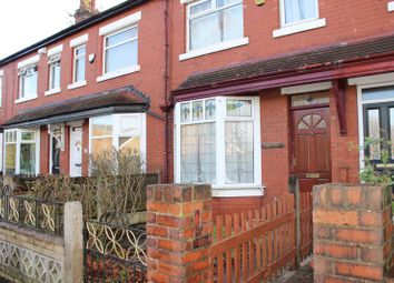 Thumbnail 2 bed terraced house for sale in Broadstone Hall Road South, Stockport
