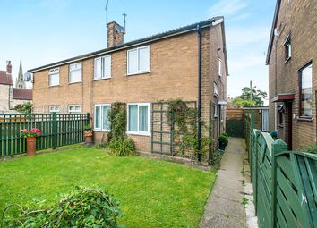 Thumbnail 3 bed semi-detached house for sale in Abbey Close, Laughton, Sheffield