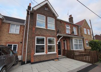 Thumbnail 3 bed terraced house for sale in Station Avenue, Rayleigh