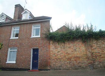 Thumbnail 2 bed end terrace house to rent in School Lane, Hadlow, Tonbridge, Kent