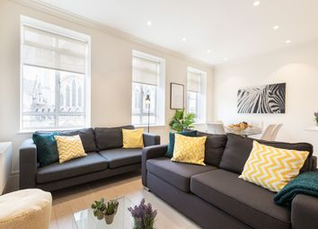 Thumbnail 3 bed flat to rent in Devereux Court, London