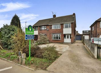 Thumbnail 3 bed semi-detached house for sale in Watnall Road, Hucknall, Nottingham