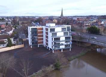 Thumbnail 2 bed flat for sale in Greyfriars Avenue, Hereford, Herefordshire
