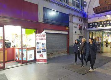 Thumbnail Retail premises to let in Unit 6B, Market Buildings, Cardiff