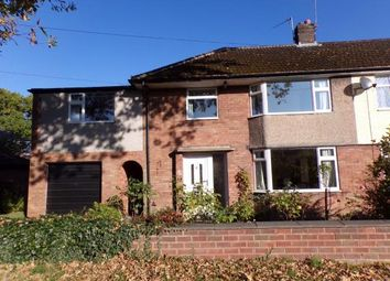 Thumbnail 5 bed semi-detached house for sale in St Chads Avenue, Romiley, Stockport, Cheshire