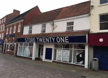Thumbnail Retail premises to let in 13-15 Silver Street, Gainsborough, Lincolnshire