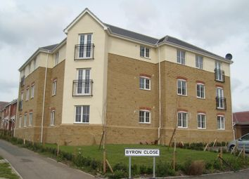 Thumbnail 2 bed flat to rent in Byron Close, Stowmarket