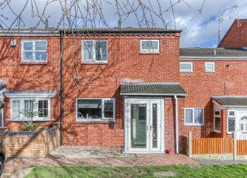 Thumbnail 3 bed terraced house for sale in Upper Field Close, Church Hill North, Redditch