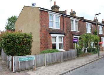 Thumbnail 2 bedroom end terrace house for sale in Foxbury Road, Bromley