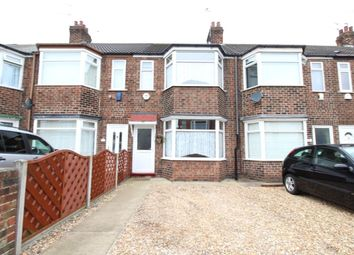 Thumbnail 3 bedroom terraced house for sale in Roslyn Road, Hull