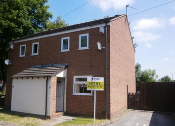 Thumbnail 2 bed semi-detached house to rent in Centre Court, Barlow Street, Derby