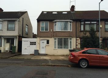 Thumbnail 4 bedroom flat to rent in Argyll Avenue, Luton