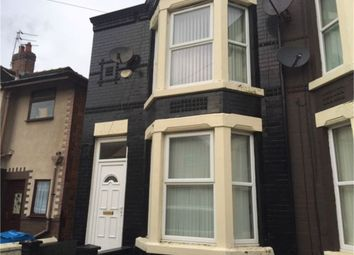 Thumbnail 3 bed terraced house to rent in Hahnemann Road, Liverpool, Merseyside