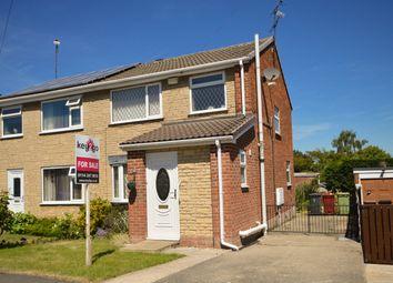 Thumbnail 3 bed semi-detached house for sale in Lipp Avenue, Killamarsh, Sheffield