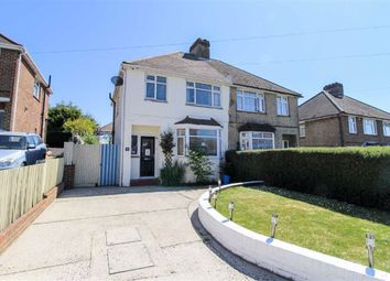 Thumbnail 3 bed semi-detached house for sale in Battle Crescent, St. Leonards-On-Sea, East Sussex