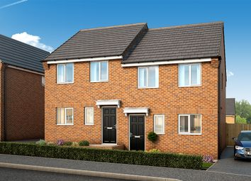 "Thumbnail 3 bed semi-detached house for sale in ""The Kendal"" at South Parkway, Seacroft, Leeds"