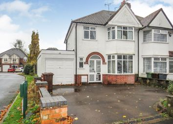 3 bed semi-detached house for sale in Cropthorne Road, Shirley, Solihull B90