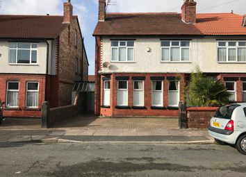 Thumbnail 6 bed semi-detached house for sale in Cambridge Avenue, Crosby, Liverpool