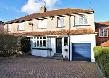 Thumbnail 5 bed semi-detached house for sale in Beverley Road, Barnehurst, Kent