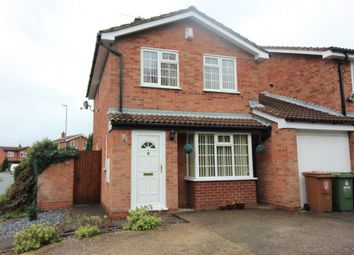 Thumbnail 3 bed detached house to rent in Highgrove Close, Willenhall