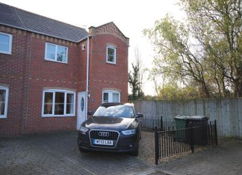 Thumbnail 3 bed end terrace house to rent in Quorndon Terrace, Quorn, Loughborough