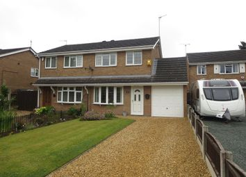 Thumbnail 3 bed semi-detached house for sale in Carisbrooke Way, Trentham, Stoke-On-Trent
