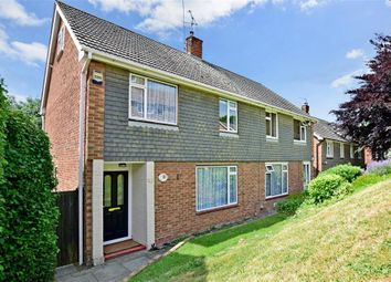 Thumbnail 3 bed semi-detached house for sale in Nine Acres Road, Cuxton, Rochester, Kent