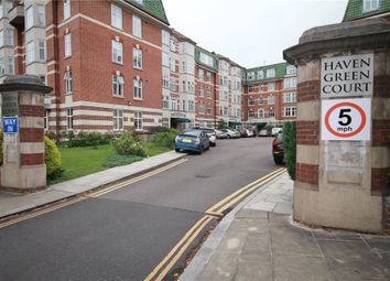 Thumbnail 4 bed flat to rent in Haven Green Court, Ealing