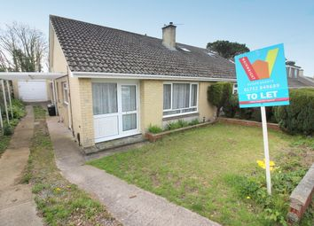 Thumbnail 2 bed semi-detached bungalow to rent in Ridgeway, Saltash