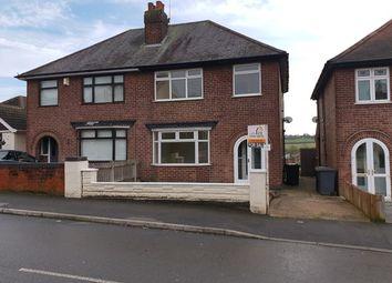 Thumbnail 3 bed semi-detached bungalow for sale in Baker Road, Nottingham