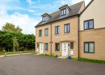 Thumbnail 3 bed terraced house for sale in Dunnock Way, St. Ives, Huntingdon