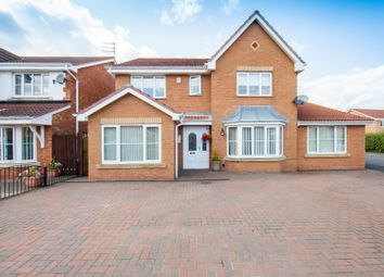 Thumbnail 5 bed detached house for sale in Chatsworth Drive, Bedlington