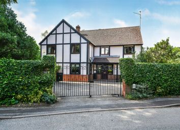 Thumbnail 4 bed detached house for sale in Manor Gardens, Wisbech