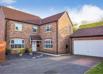 Thumbnail 4 bed detached house for sale in Bobbin Lane, Lincoln
